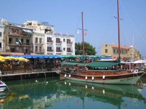 Boats trip in North Cyprus