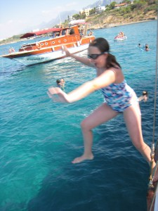 Boat trip fun